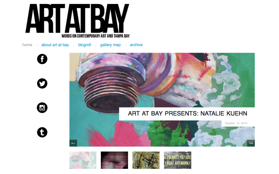 ART AT BAY features Natalie Kuehn